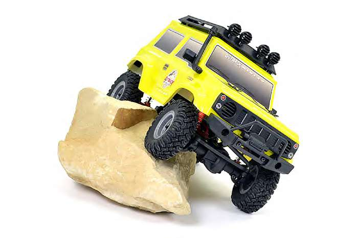 FTX OUTBACK MINI 2 PASO 1/24 READY-TO-RUN WITH PARTS - YELLOW